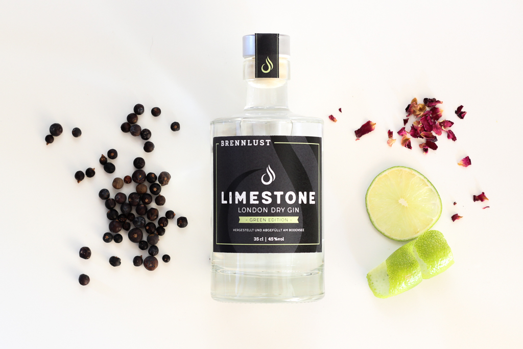 BRENNLUST | LIMESTONE London Dry Gin Green Ed