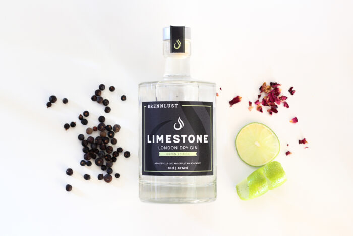 BRENNLUST | LIMESTONE London Dry Gin Green Ed