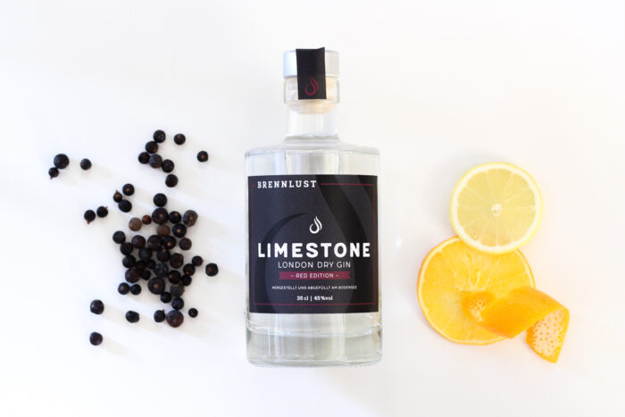 BRENNLUST | LIMESTONE London Dry Gin Red Ed