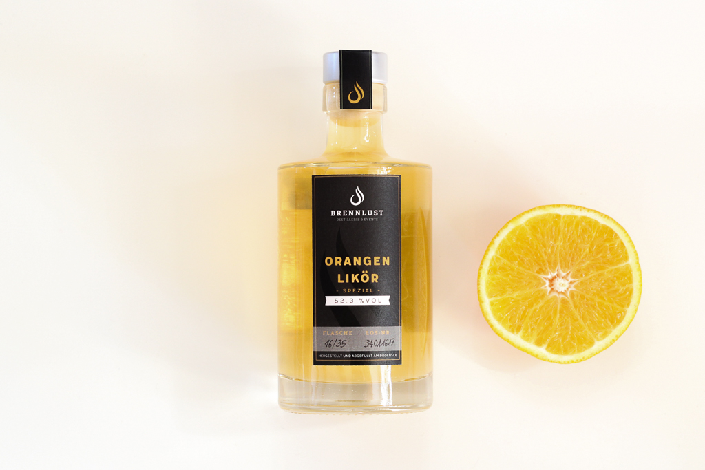BRENNLUST | Orangen-Likör spezial 35 cl