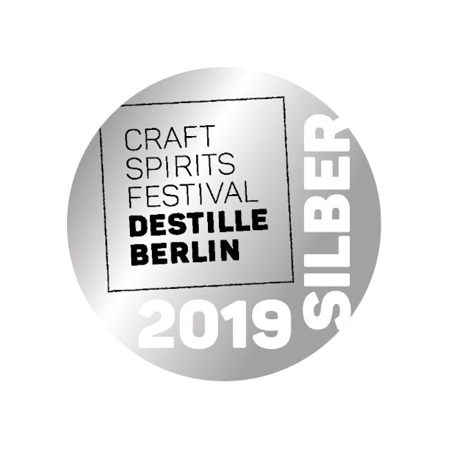 Silber Medaille für Brennlust von Craft Spirits Berlin 2019