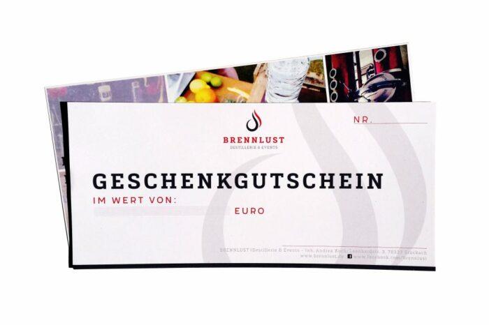 BRENNLUST | Geschenkgutschein