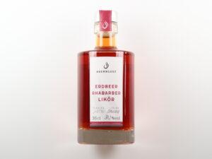 Produkt: Erdbeer-Rhabarber Likör - Brennlust, Stockach