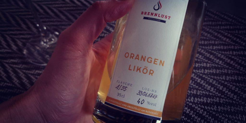 BRENNLUST Orangen Likör 40%vol