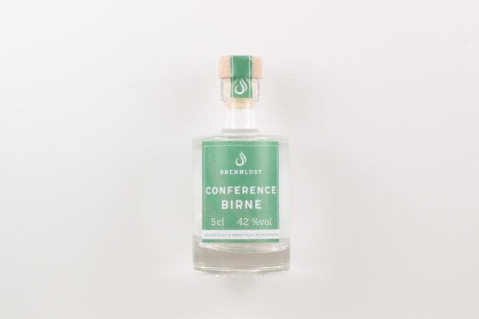 BRENNLUST Mini Conference Birnen Brand 5cl