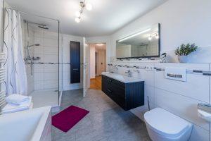 Ferienwohnung ReiseLUST: Badezimmer
