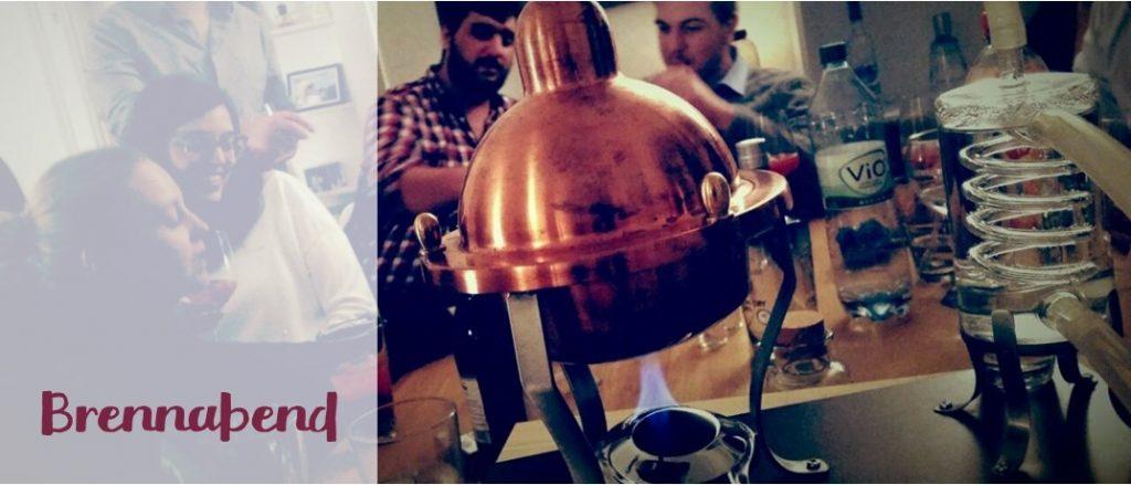 BRENNLUST | Gin-Workshop / Brennabend anlässlich eines 30. Geburtstags