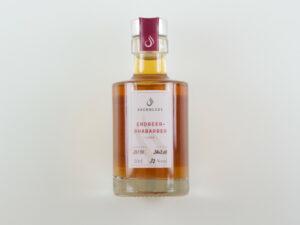 Produkt, Erdbeer Rhabarber Likör, Brennlust, Stockach