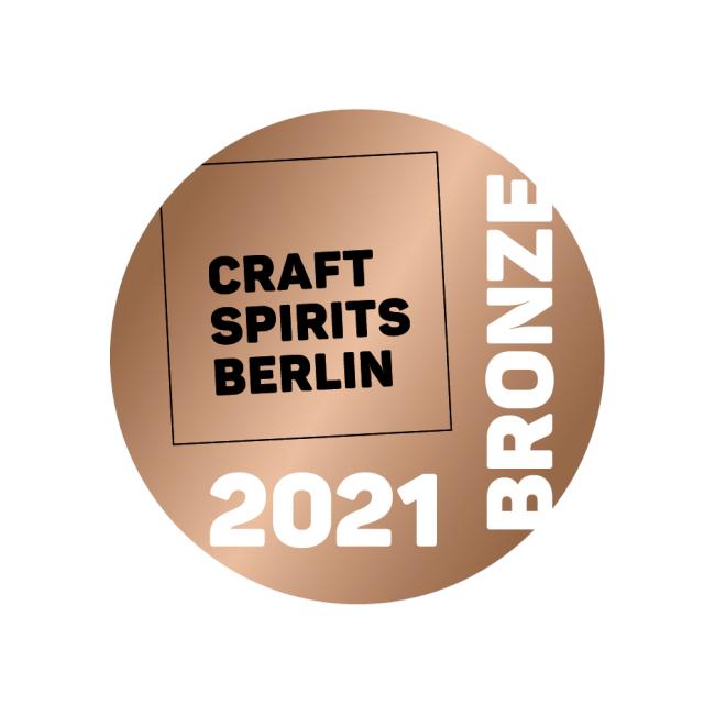 Bronze Medaille für Brennlust von Craft Spirits Berlin 2019