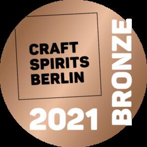 Bronze Medaille für Brennlust von Craft Spirits Berlin 2021