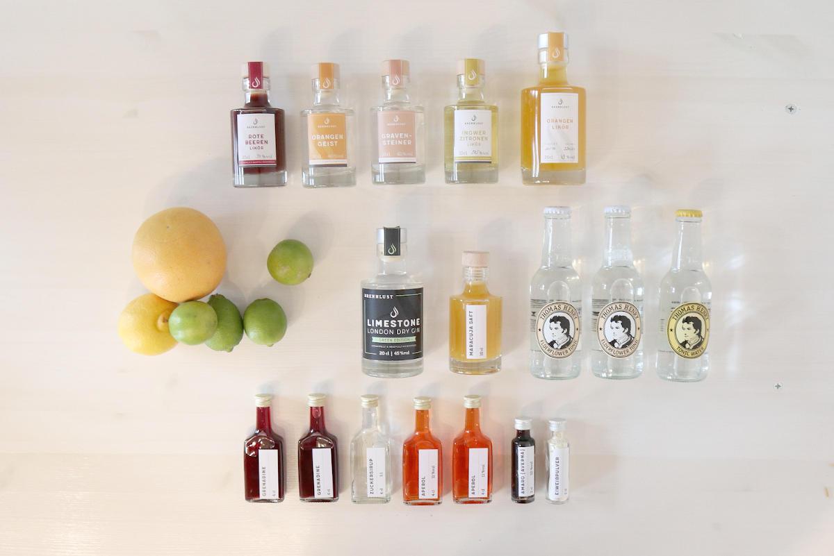 Online Cocktailkurs - Set Midi
