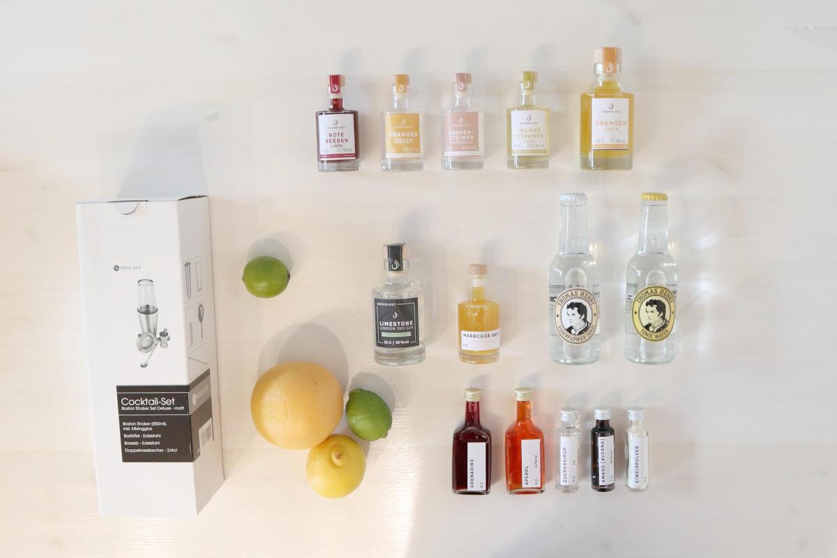 Online Cocktailkurs - Set Mini +