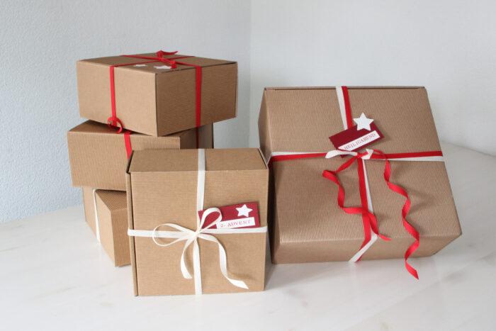 4 Adventsgeschenke und 1 Weihnachtsgeschenk - mit Destillaten und Likören von Brennlust